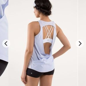 Lululemon Breathe and Release Tank